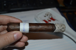 Blind Man's Puff Cigar Review: Ramon Bueso Genesis The Project Robusto Second Third