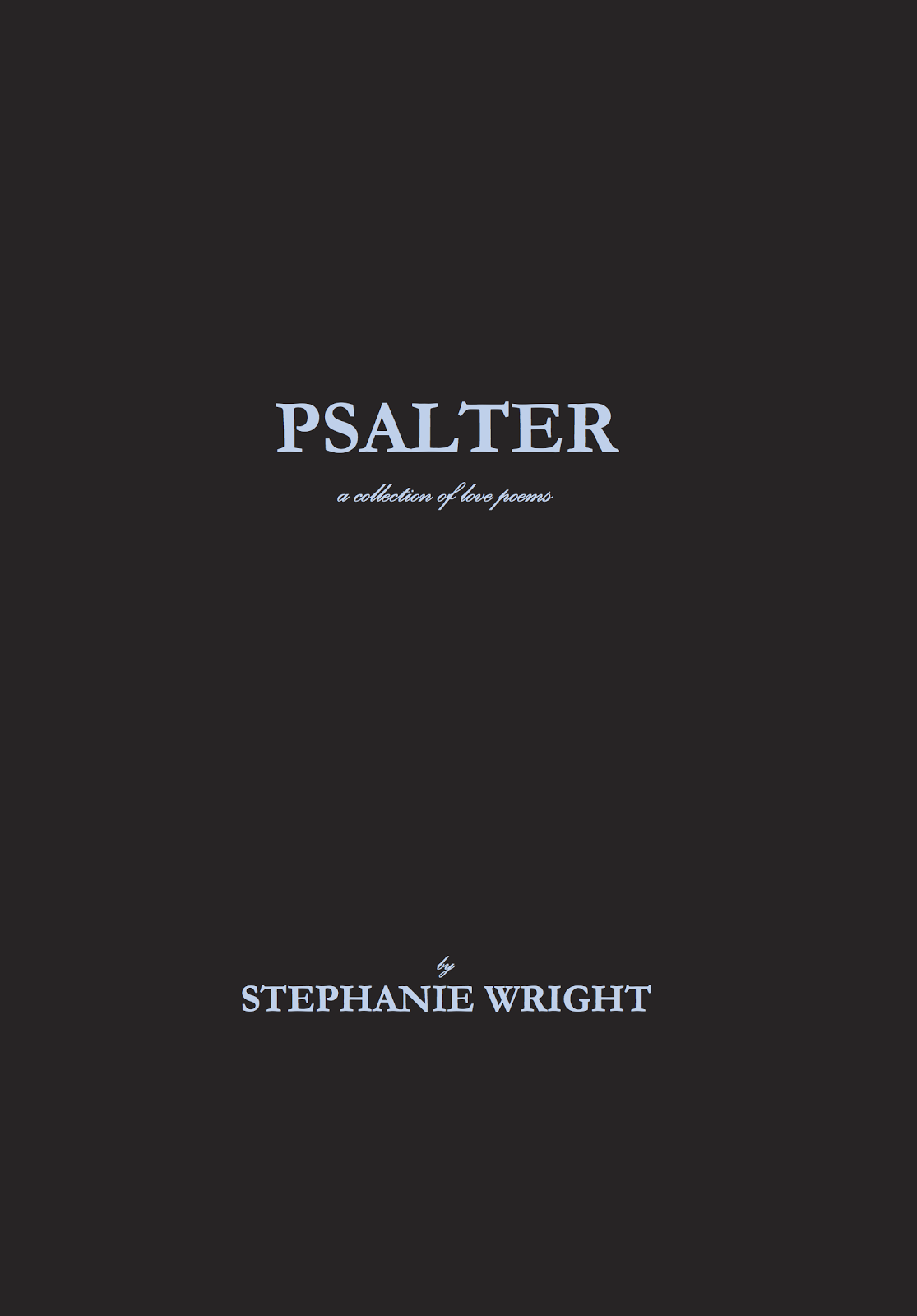 Psalter: a collection of love poems