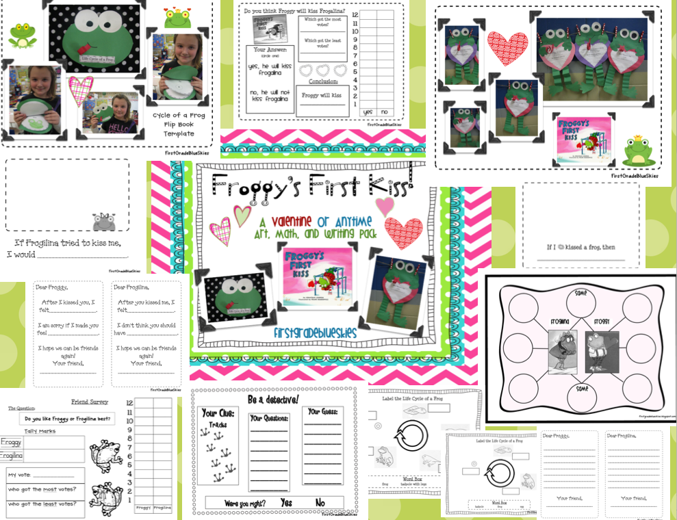 Gallery For u0026gt; My Froggy Stuff Printables Worksheets