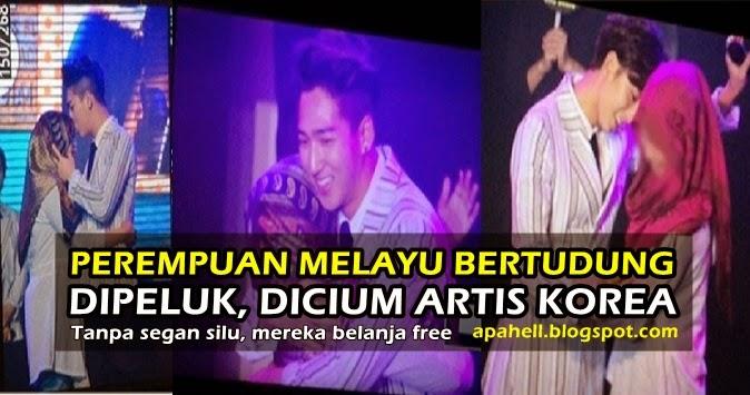 Perempuan Melayu Dip*luk, Dic*um Artis Kpop, Bangga Habis (6 Gambar)  http://apahell.blogspot.com/2015/01/perempuan-melayu-dipluk-dicum-artis.html