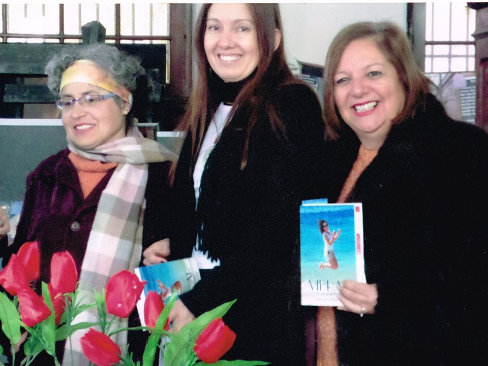 Marta Moussa, Eleonora Alcalde Machado e Liane Machado