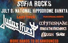 Judas Priest, Whitesnake, Saxon o Slade al Sofia Rocks Festival