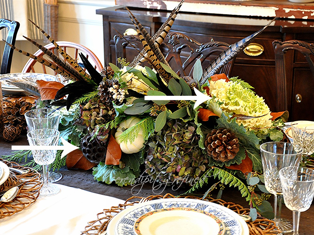 Serendipity refined thanksgiving table decor