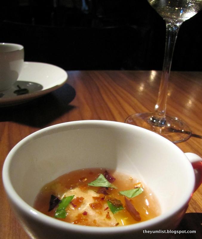 Michelin starred chef 39 s special menu at mezze bistro a for Amuse bouche cuisine