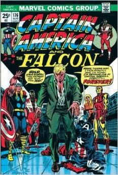Portada de Captain America #176