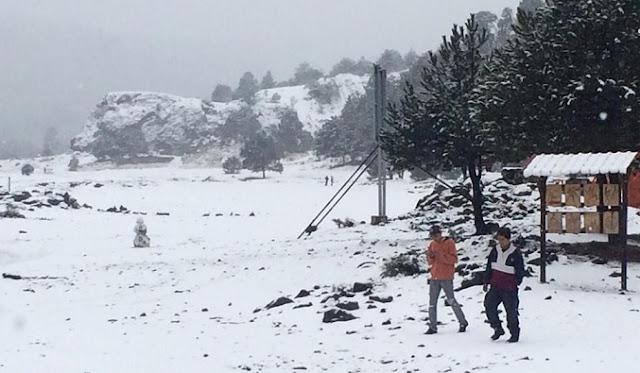 Nieve, clima frío