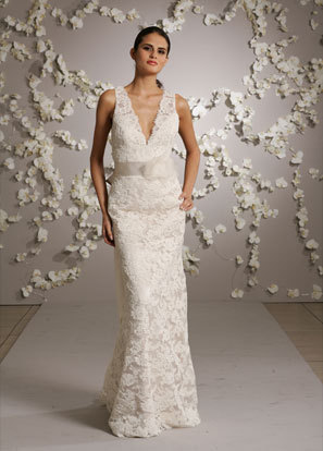 Short Lace Wedding Dress on Sophisticate Lace Wedding Dresses Gowns   Wedding Gowns