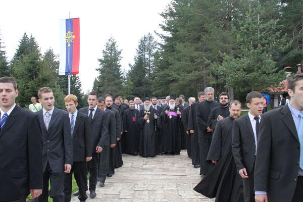 Патријарх српски у посети Епархији милешевској 28-29 маја 2011. лета Господњег