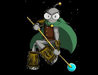 Barbarian Wizard Geekbot
