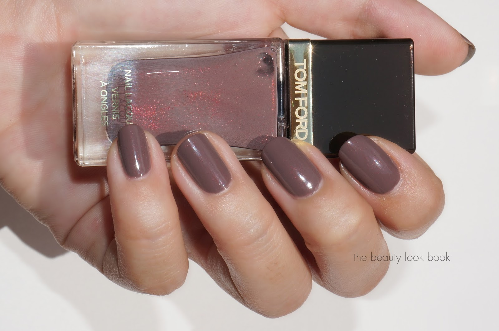 Tom Ford Black Sugar Nail Lacquer - Fall 2013 | The Beauty Look Book