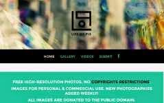 Life Of Pix: otro banco de imágenes de alta resolución de dominio público para uso personal y comercial