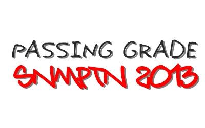 Cara Menghitung Passing Grade SNMPTN 2013, SNMPTN 2013, test Tulis SNMPTN 2013