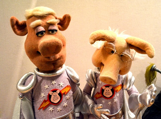 Muppets at the Center for Puppetry Arts, Pigs in Space