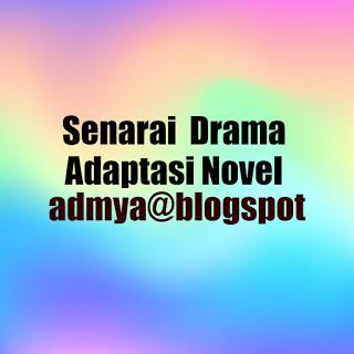 Senarai Adaptasi Novel
