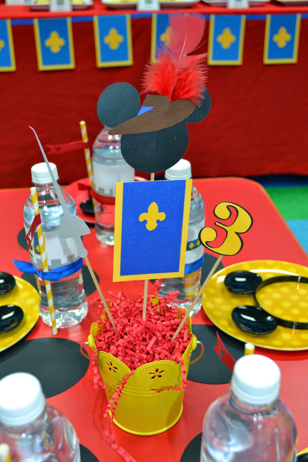 Partylicious Events Pr Mickey Musketeer Birthday