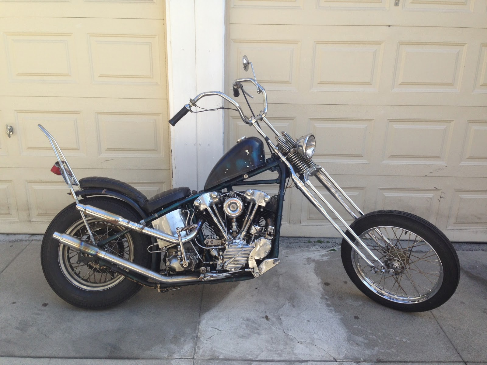 for sale 1941 harley davidson knucklehead survivor chopper