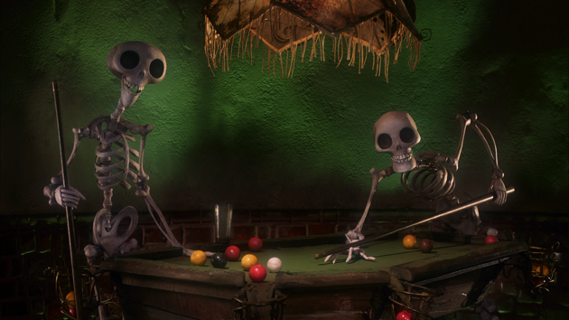 Skeletons from Corpse Bride