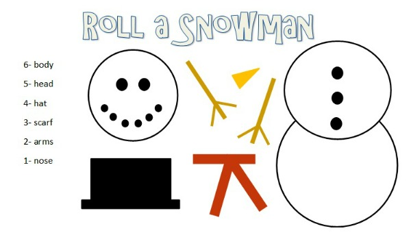 Be Different...Act Normal: Roll A Snowman Game [Class Party Activities ...