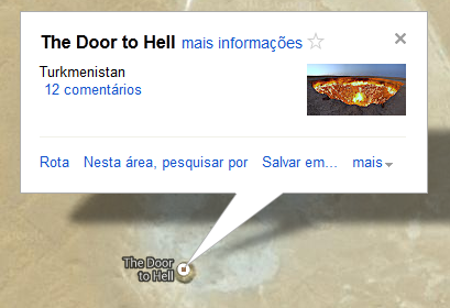 Door to hell in turkmenistan