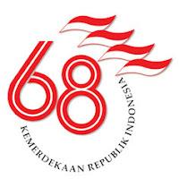 Animasi Logo Hut RI ke 68 Gambar terbaru