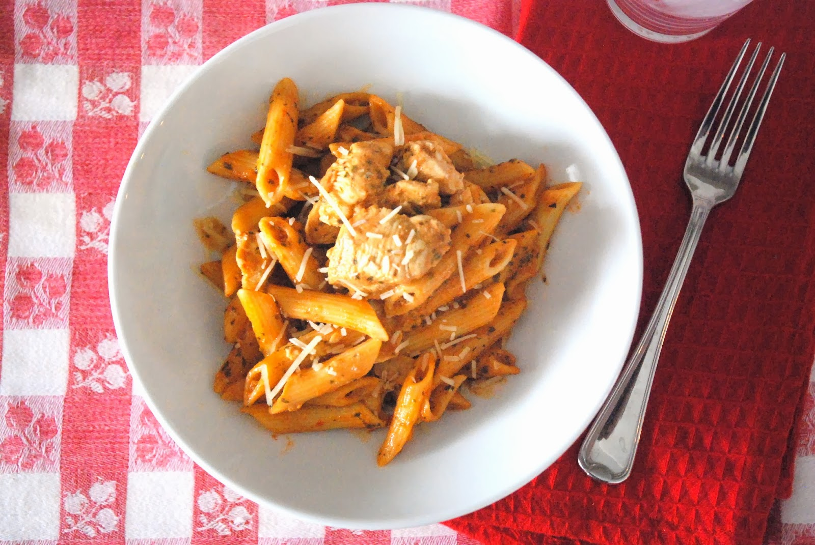 Simple Freezeable Chicken and Tomato Sauce Dinner