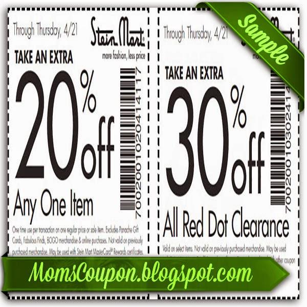 Steinmart coupon code
