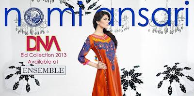 Nomi Ansari DNA Eid Collection 2013-2014