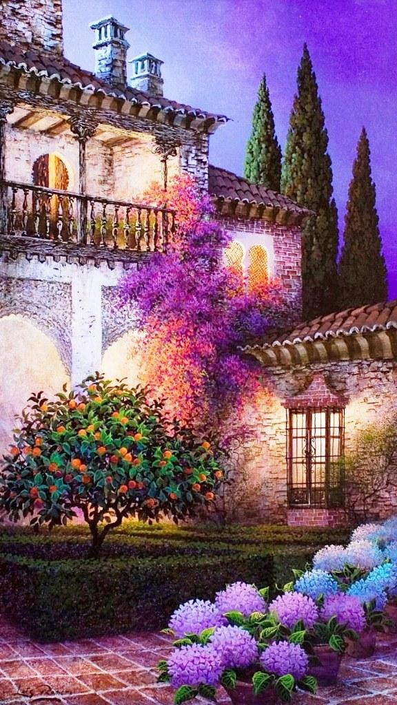 Cuadros, pinturas, oleos: Cuadros de paisajes bonitos