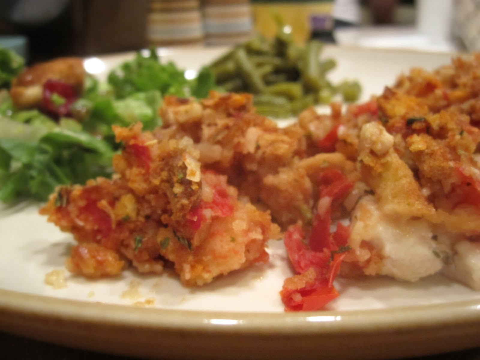 Bruschetta Chicken Bake - Catz in the Kitchen