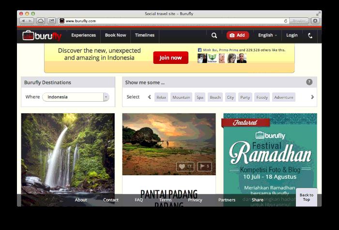 burufly Best Travel Startup in Indonesia