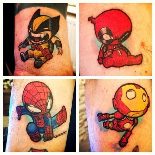Character Design Tips Tattoo : Komixscene