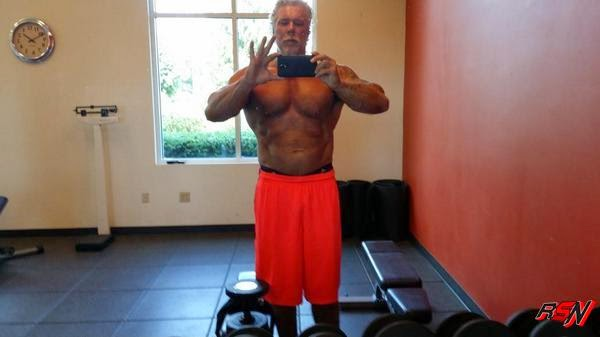 Kevin Nash Staying In Shape.