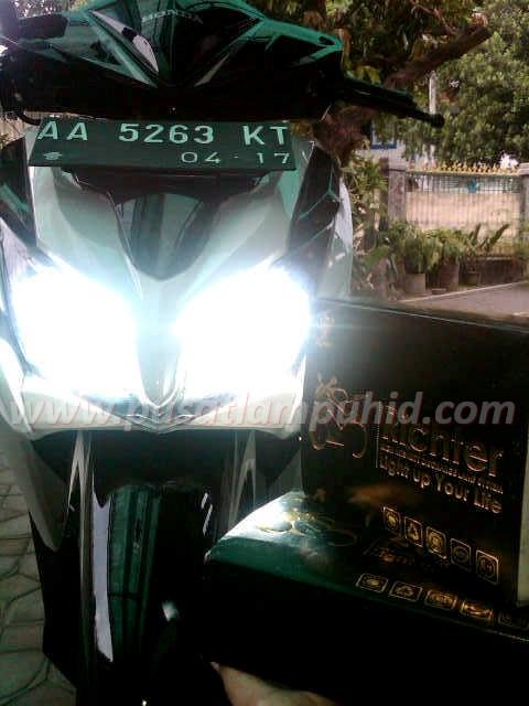 Lampu HID Motor RICHTER Honda Vario 6000k