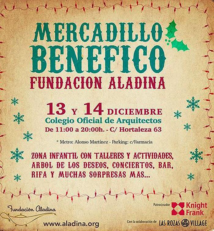 MERCADILLO-SOLIDARIO-FUNDACION-ALADINA-NAVIDAD-MADRID-TALESTRIP