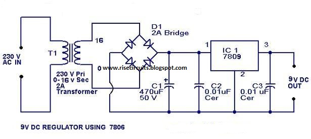 wiring material 9 volt power supply wiring diagram schematic using