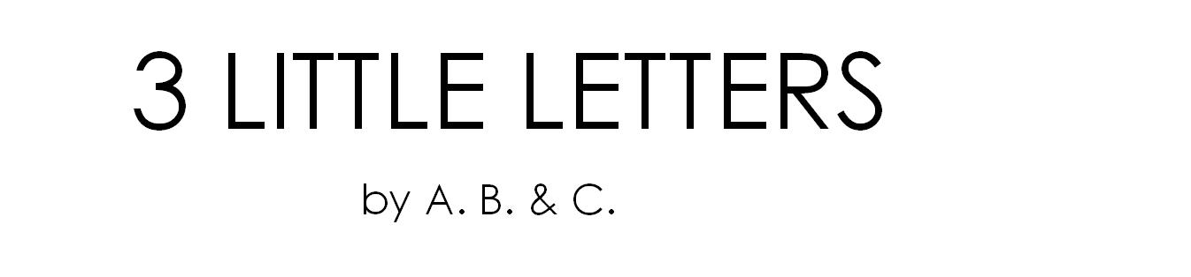 3 Little Letters