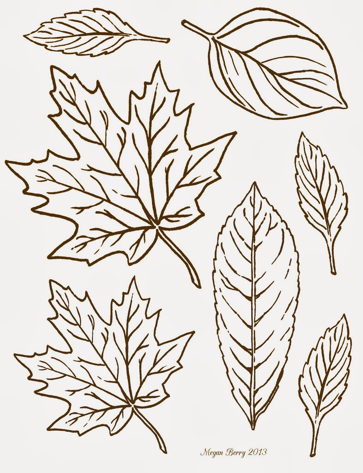 printable autumn leaves images reverse search