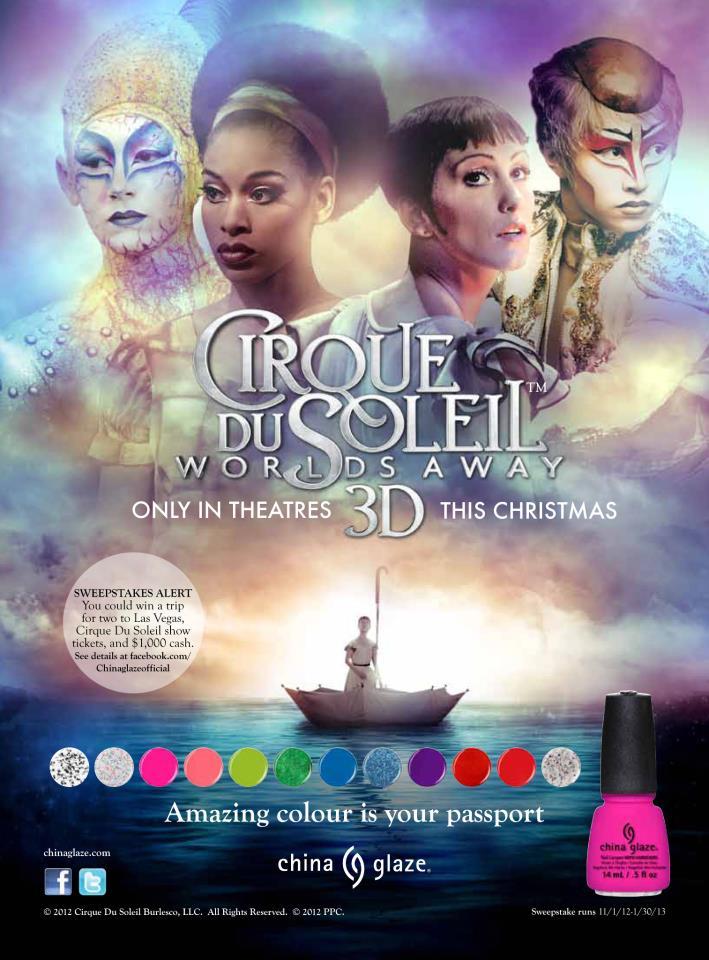 China Glaze s'associe au Cirque du Soleil!