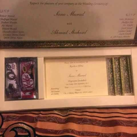 Exclusive wedding pictures and video of ahmad shahzad for Roohi bano latest pics