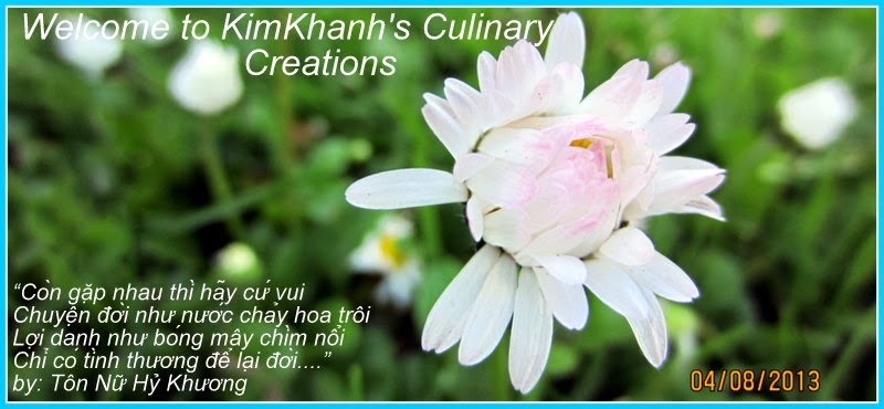 Welcome to KimKhanh's Culinary Creations