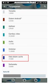 Cara Membersihkan Cache Sampah Di Android Secara Manual