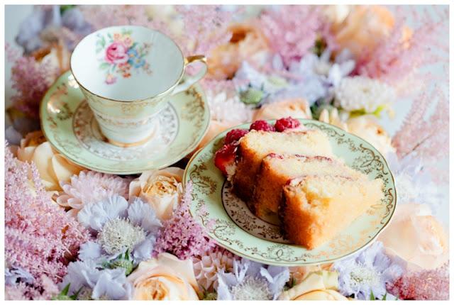 Tea party before wedding