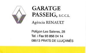 Garatge Passeig