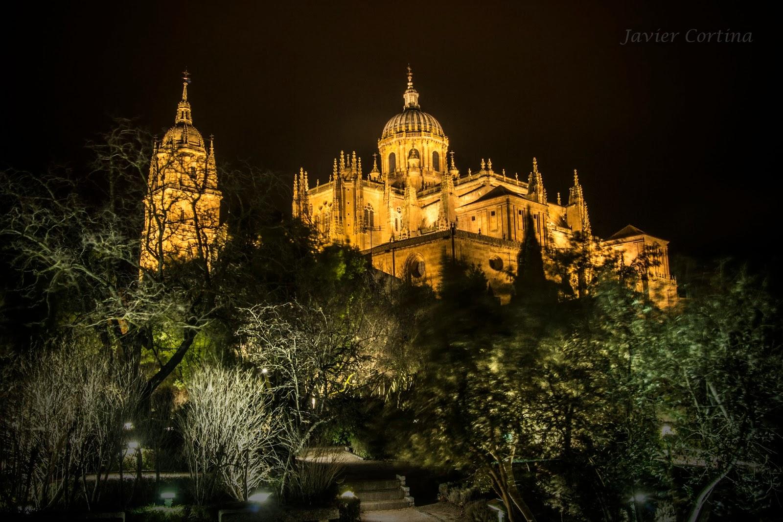 Blog de fotograf a de javier cortina fern ndez salamanca por la noche salamanca at night - Jardin de calisto y melibea salamanca ...