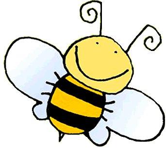 Bumble Bee Baby Shower Sheet Cake