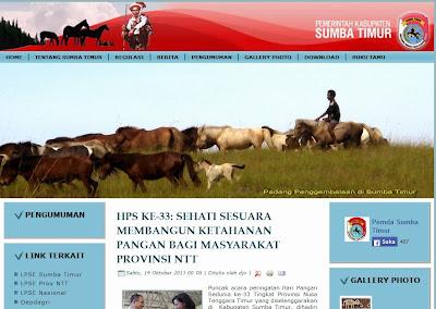 Arti Lambang, Website Pemerintah, Sumba Timur, Lambang Kabupaten, NTT