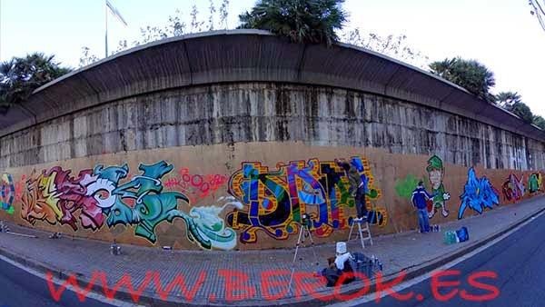 Graffitis Terrassa 2012