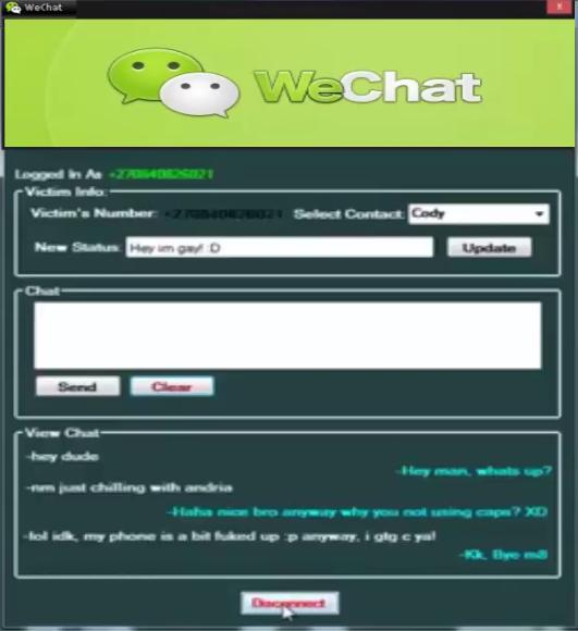 Wechat id menggunakan hack cara Cara Hack