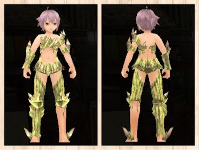 魔結晶の鎧 黄色1