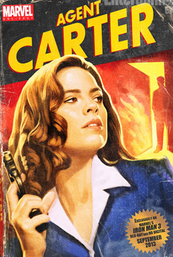 Marvel One-Shot: Agent Carter 2013 poster